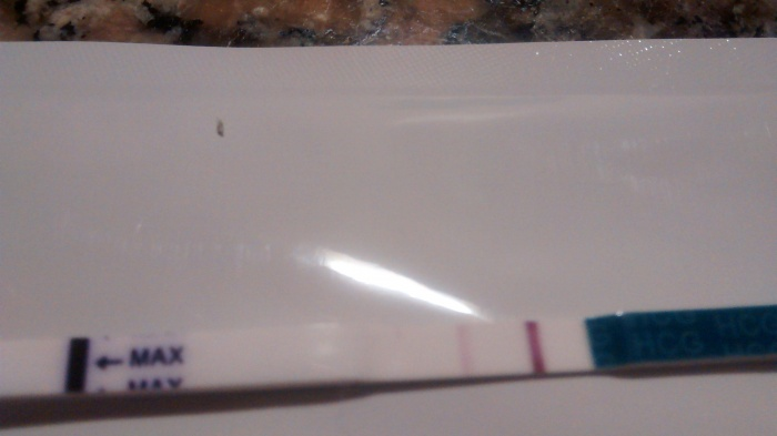 De positivo evatest embarazo test